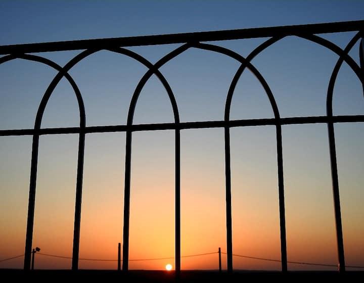 'בביתו במדבר' -'BEVEITO BAMIDBAR'- צימר שמרגיש בית