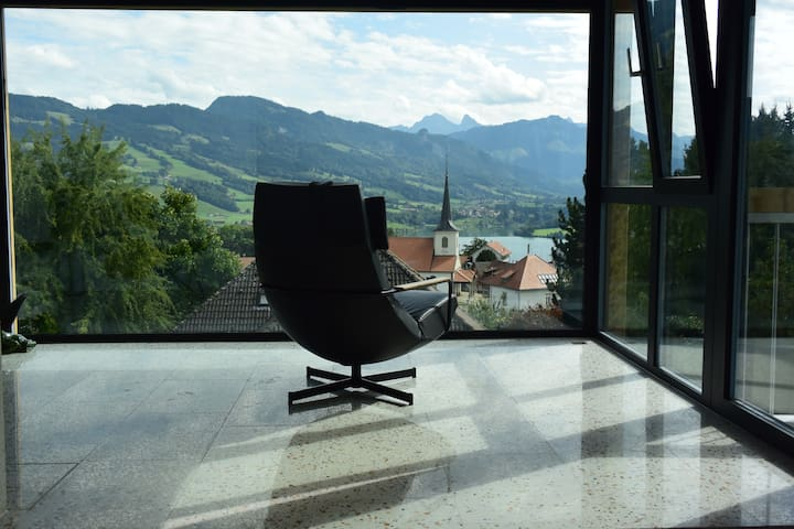 Maison chaleureuse au coeur de la Gruyère, Suisse