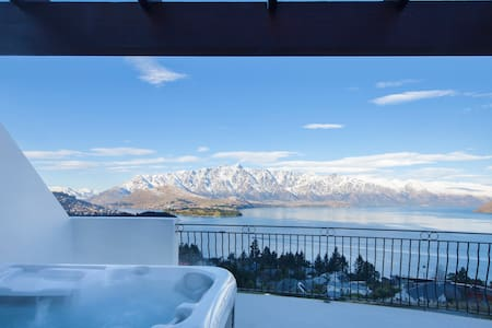 Belvedere Breath Taking Lake and Mountain Views