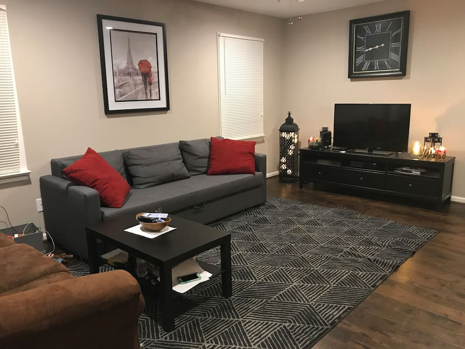 This is the living room! Open for your using