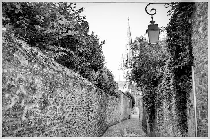 Rue médiévale de Carentan