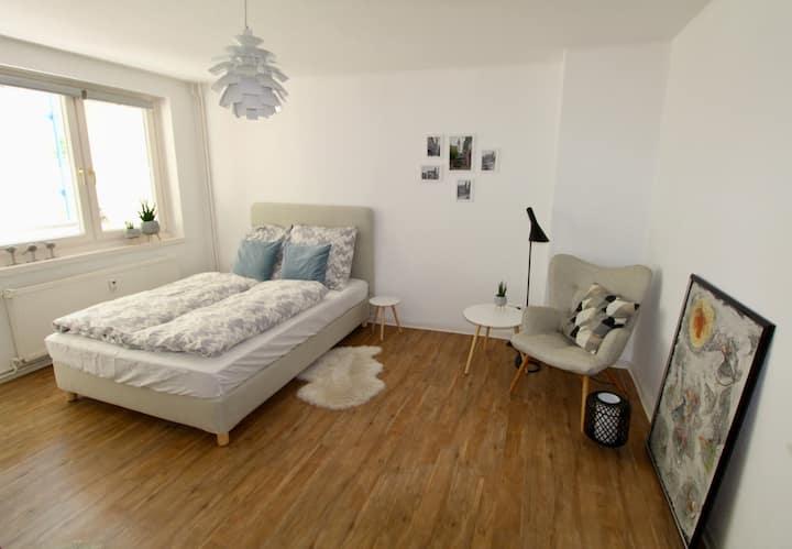 Modernes Appartement mitten im Zentrum von Leipzig