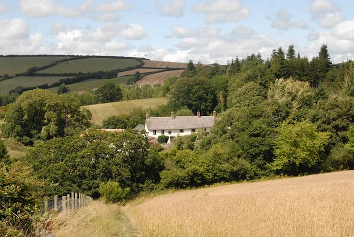 Farmhouse on the edge of Dartmoor. - Drewsteignton - Bed & Breakfast