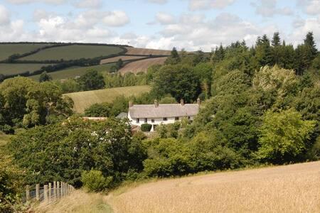 Farmhouse on the edge of Dartmoor. - Drewsteignton - 住宿加早餐