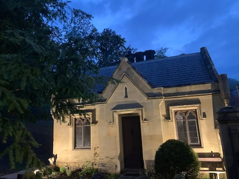 Eclectic Victorian Gothic Gate  Lodge welshpool
