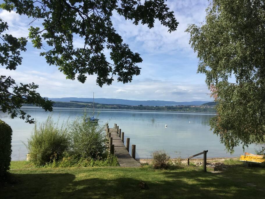 Blick auf den See - View