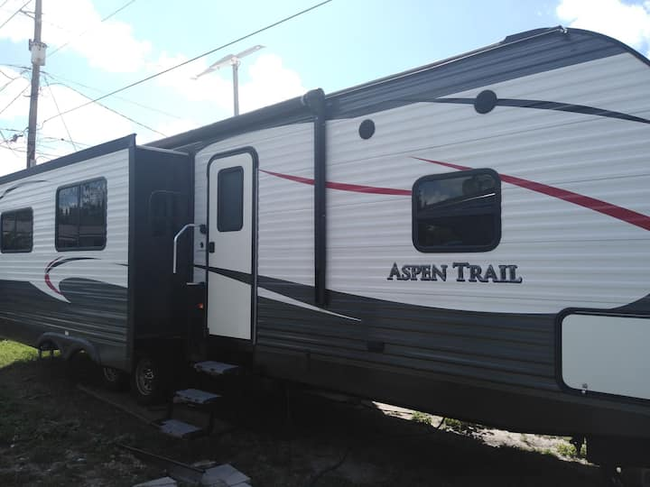 The comfortable and relaxing RV.
