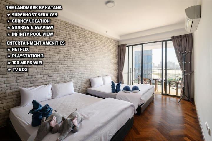 ☀ Couples Getaway I ☀ Luxurious Seaview | 豪华海景城市公寓