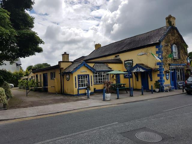 Unique historical traditional Irish pub