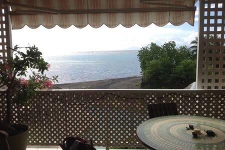 Appartement terrasse face au lagon. - PAEA