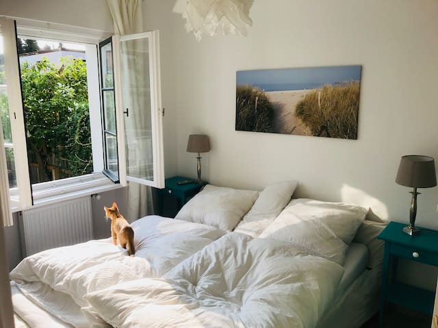 Berlin Zehlendorf, cozy room with private bathroom