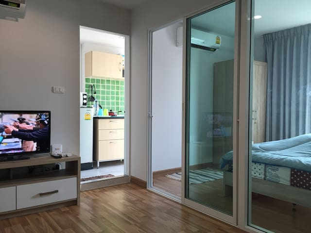 Convenient Space - Sukhumvit 101 - Bangkok - Appartement