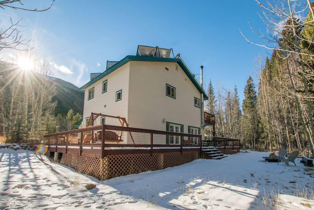 Silver Plume Ski Lodge Closest Lodging To Loveland
