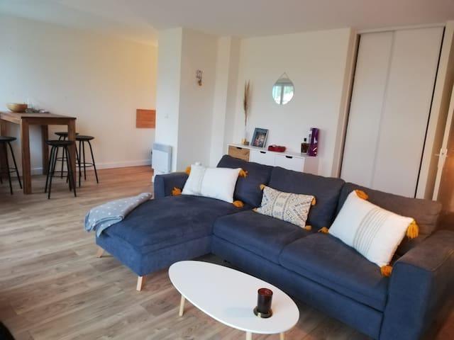 Appartement bord de Mer avec terrasse