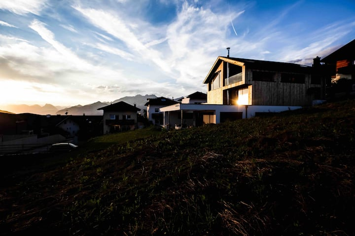 Ferienhaus in Mitten der Bergwelt Tirols