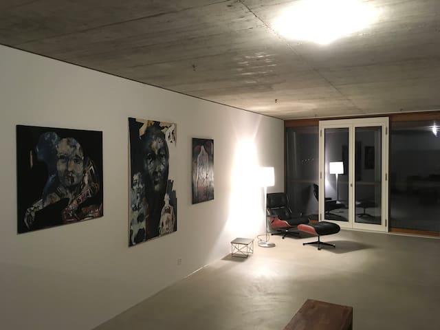 Designwohnung von Herzog & deMeuron - Münchenstein - Byt
