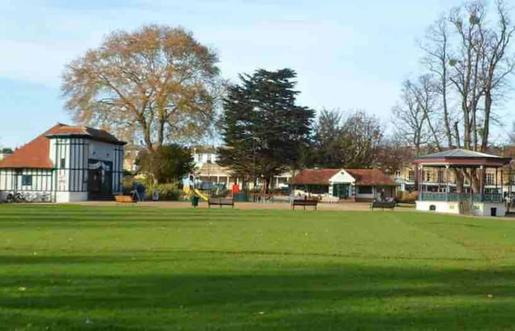 A short walk from Montpellier Gardens where lots of annual festivals are held