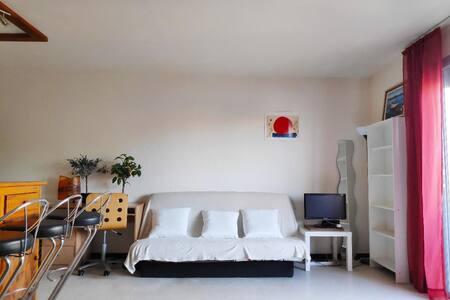 Palavas-les-Flots: Studio avec balcon et parking