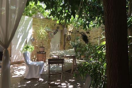 Chambres d'hôte dans maison de village atypique - Cornillon-Confoux - Vendégház
