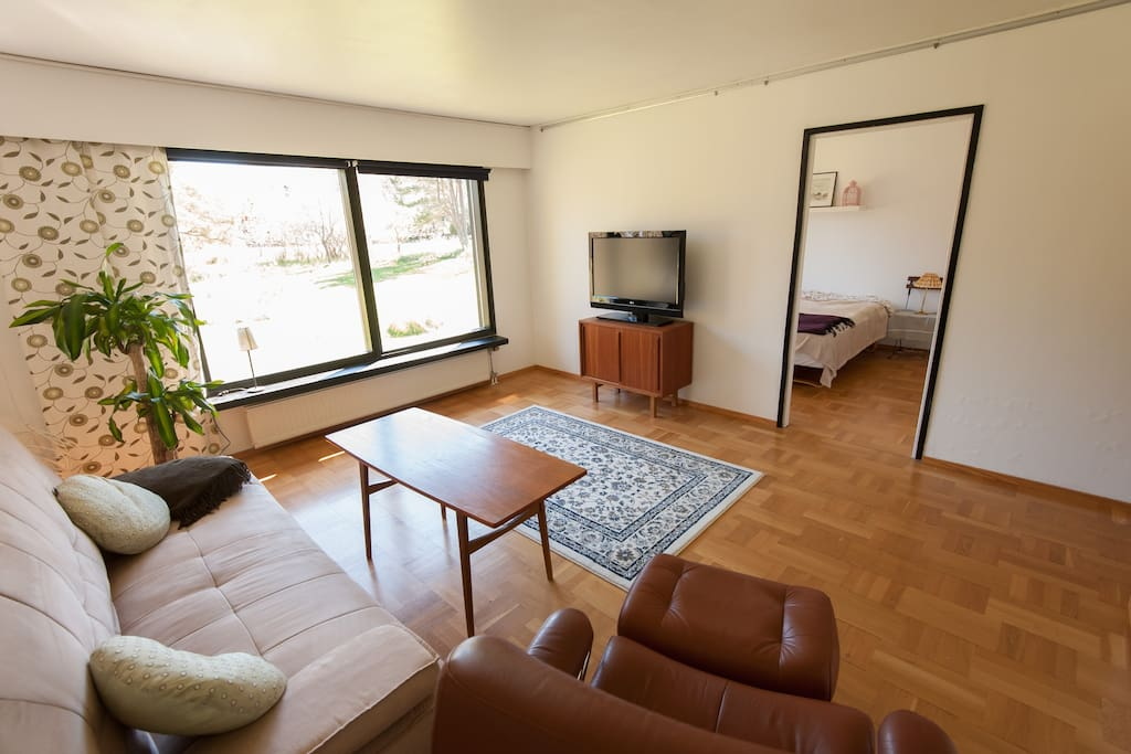 Spacious (50 m2) apartment.