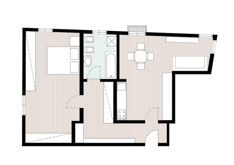 Pianta dell'appartamento - plan