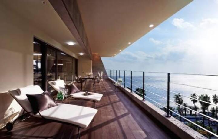 중문해변50m. 고급 리조트. 완벽한 집
