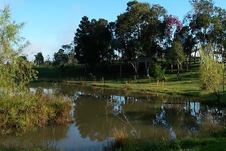 Paz na Lagoa da Música... - Campina Grande do Sul - 小木屋