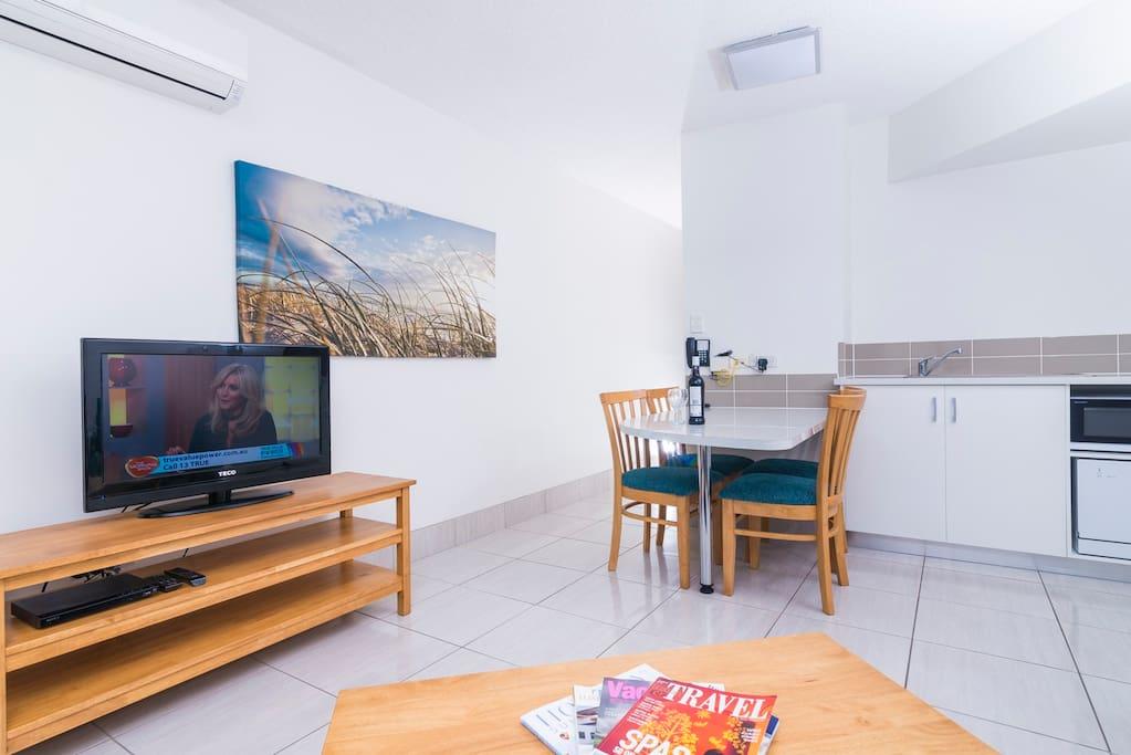 Resort Unit Lounge Area