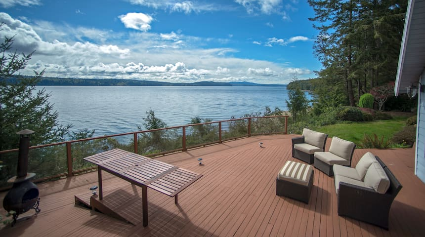 Gorgeous Waterfront Views & Very Private Retreat - Brinnon - House