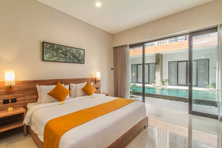 Cozy Modern Apartment Close To Seminyak Beach