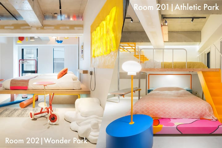 BnA ART ROOM - PARK by Studio Bowl