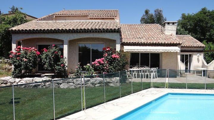 Villa quartier résidentiel La Gaude