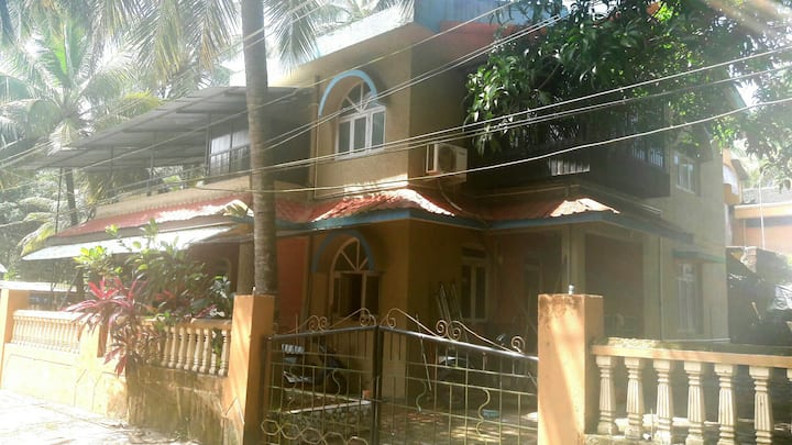 2 bedroom house near Colva and Benaulim Beach