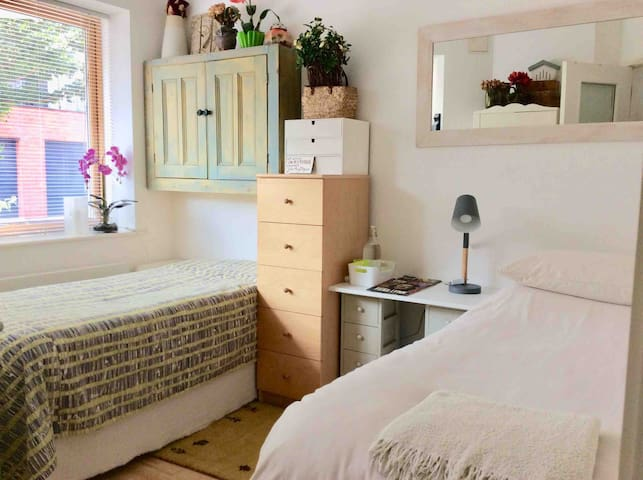 Single/twin or double bed configuration available.