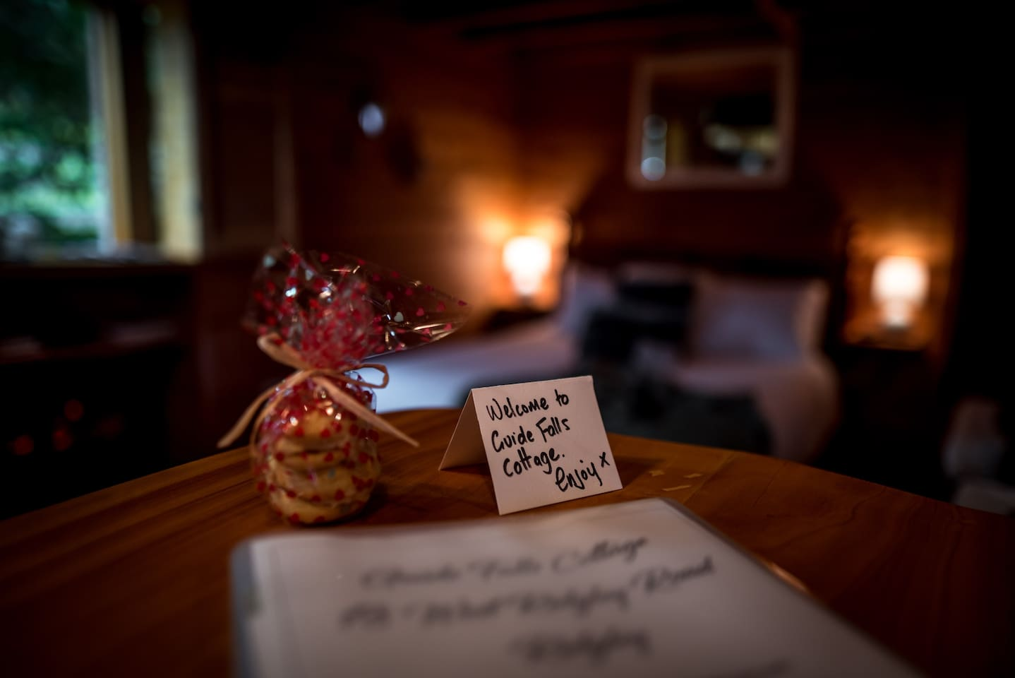 When you book at Guide Falls Romantic Cottage expect all the little touches that make your stay memorable.