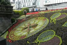 The Floral Clock, West Princes Street, Edinburgh