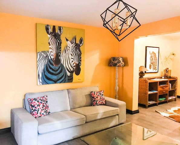 The Zebra Pad - Trendy & Hip Apt in Westlands