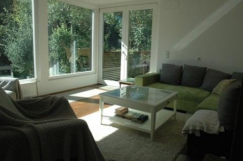 Modern & spacious loft in charming old villa