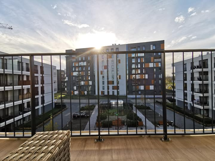 New Apartment Rakowicka 22J *Old Town*check-in 24h