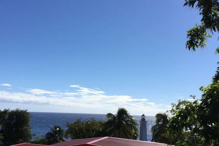 La maison du Phare, face à la mer. - Vieux Fort - Casa