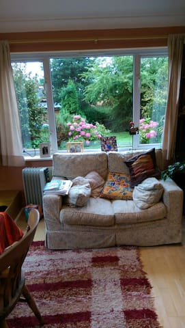 Double bedroom in friendly family house