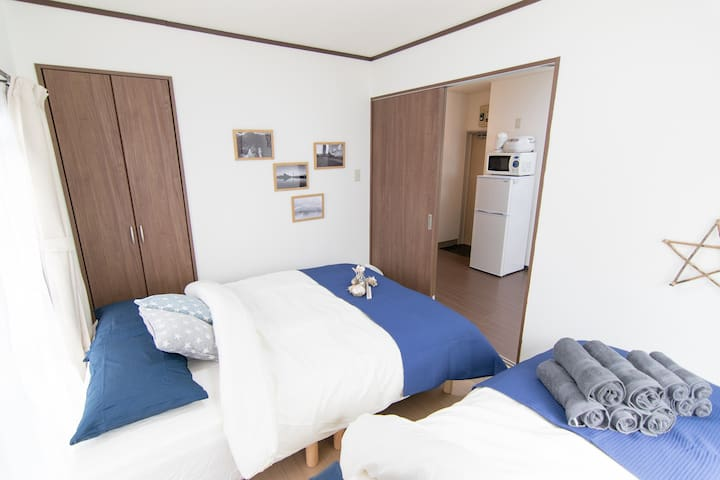 Direct to Airport! 3min-Sta.Near Skytree, Ueno#12