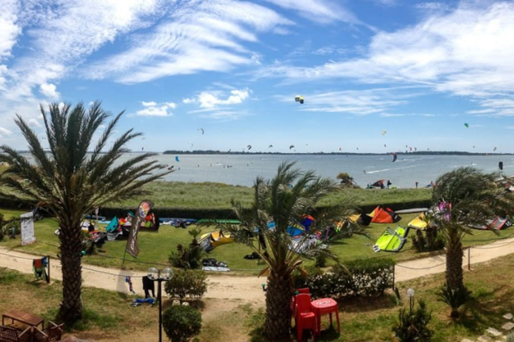kitesurfers area just 600 mt far from the house