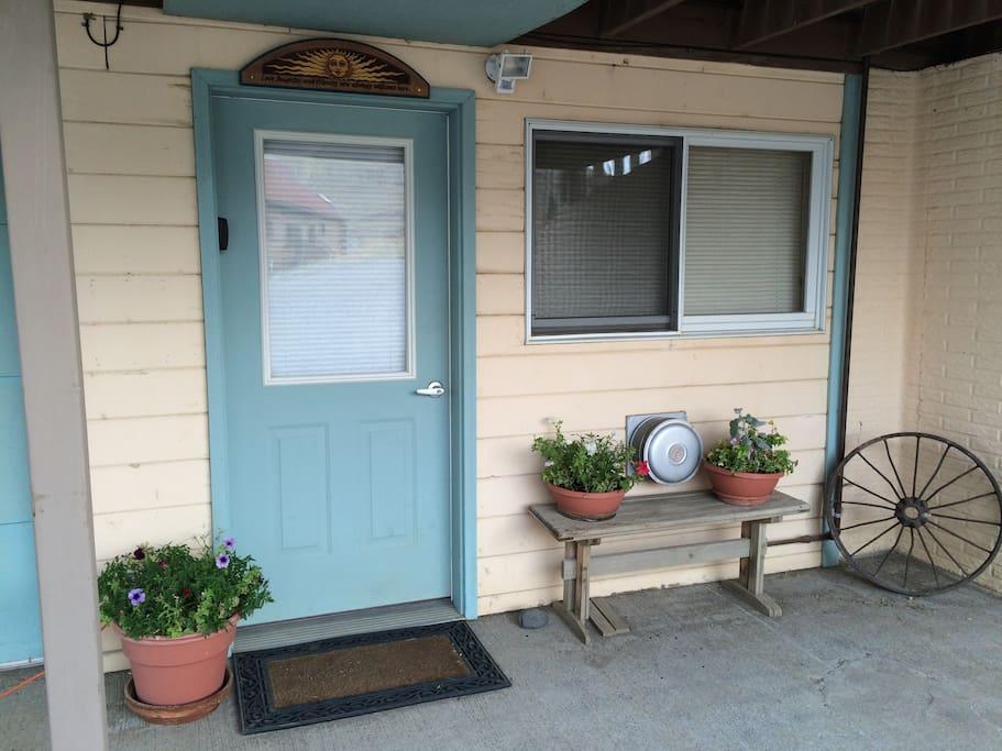Vacation Rental Entrance