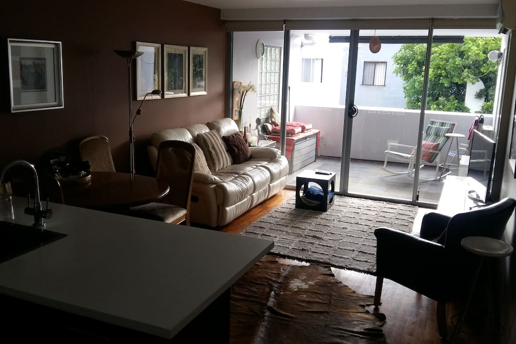 Lounge room and tv room