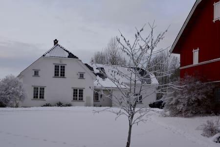 Koselige soverom og eget stort bad - Skien - Dům