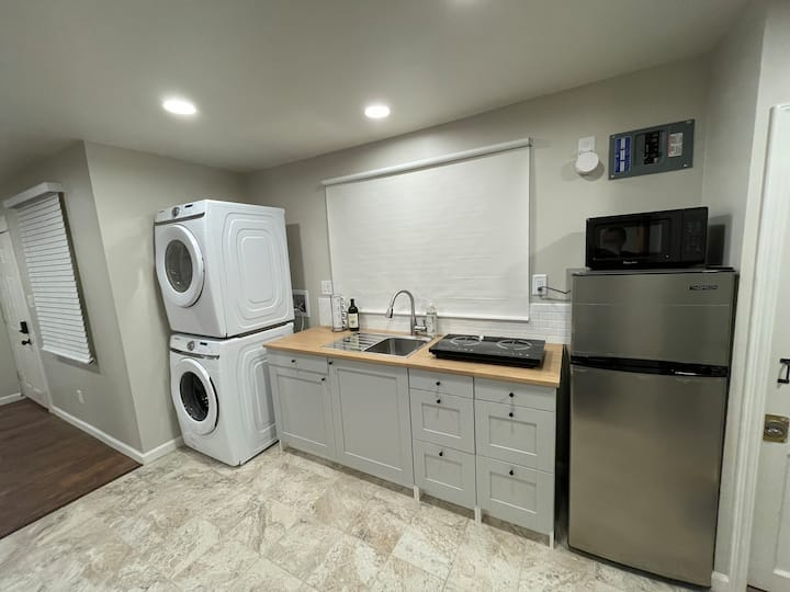 Must see location. newly renovated studio home