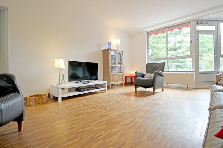 Beautiful 4 bedroom apt with water&park view 110m2