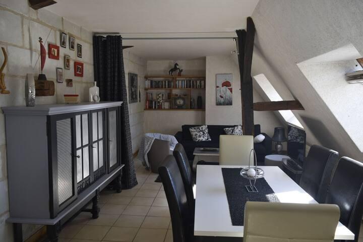 Appartement calme au cœur de Saumur