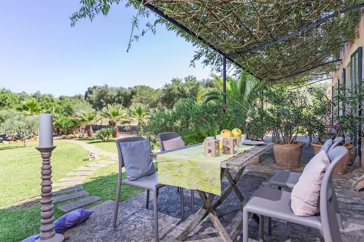 Gemütliches Finca Apartment Casa Arco mit Pool
